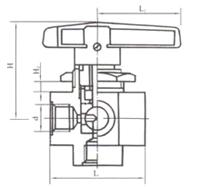 YZQ-9 YFP-2两位通切换球阀